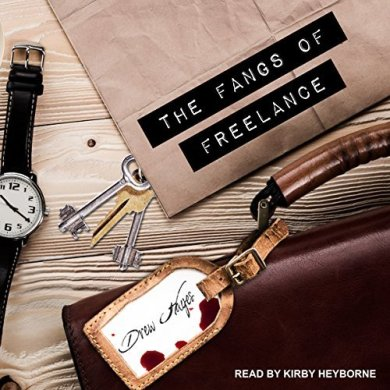 The Fangs of Freelance Audiobook by Drew Hayes read by Kirby Heyborne