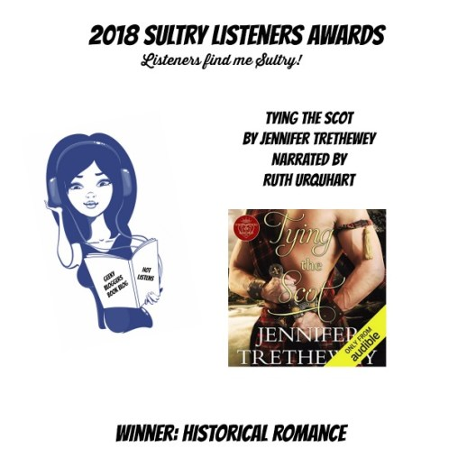 #SultryListeners Awards Winner 2018 – Historical Romance