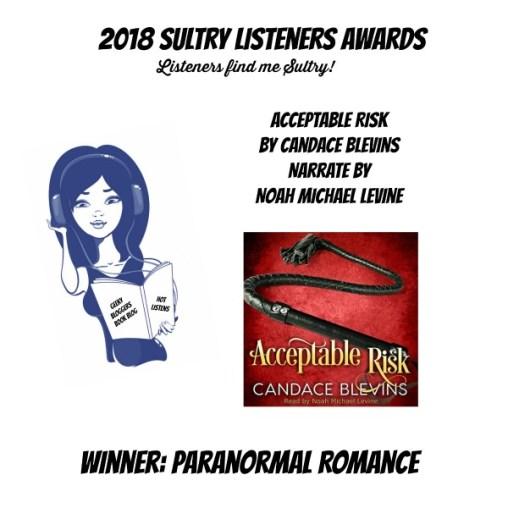 #SultryListeners Awards Winner 2018 – Paranormal Romance