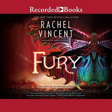 Fury (Menagerie #3) by Rachel Vincent read by Gabra Zackman