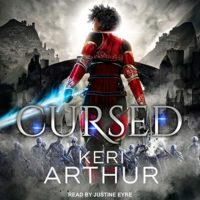Cursed (Kingdoms of Earth & Air #2) by Keri Arthur read by Justine Eyre