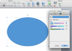 Setting RGB in Mac PPT