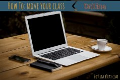 Pin Size How to Move Your Class Online