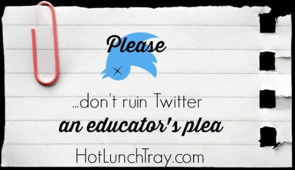 Please dont ruin twitter