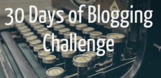 30 Days of Blogging Challenge