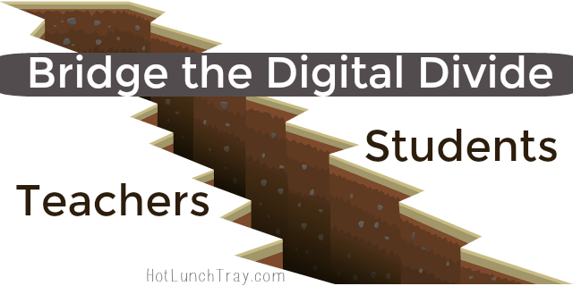 Bridge the Digital Divide Teacher Students