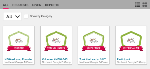 Credly Badge from #NEGAedcamp Northeast Georgia EdCamp