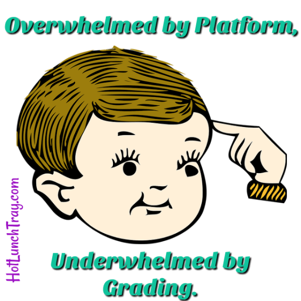 Overwhelmed by Platform Underwhelmed by Grading