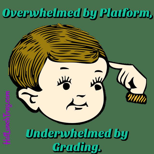 Overwhelmed by Platform Underwhelmed by Grading