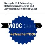 Link to eTeacher Tool MOOC