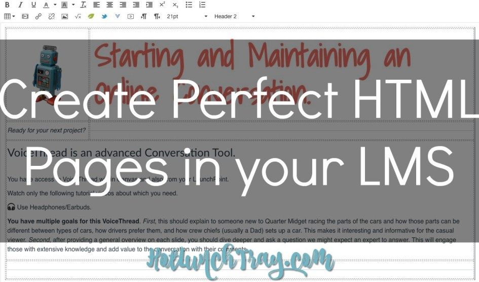 Perfect HTML Pages