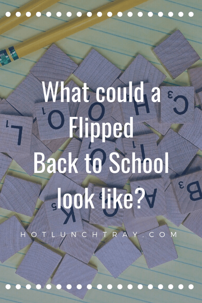 Flipped Back to School PIN