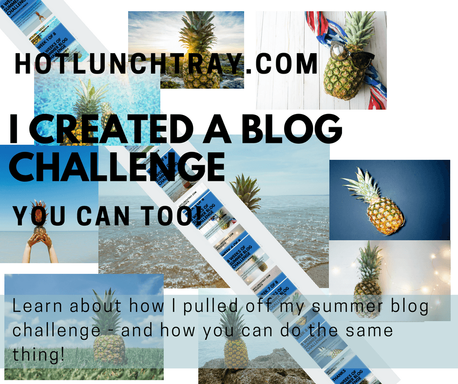 I created a Blog Challenge
