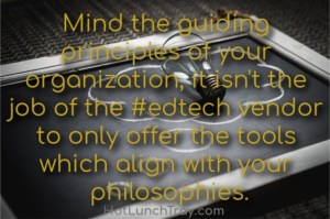 Mind the guiding principles of your org
