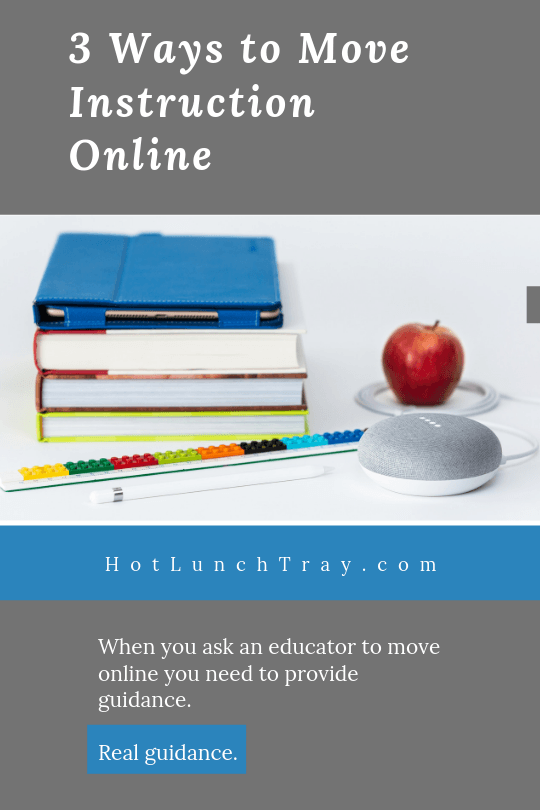 3 Ways to Move Instruction Online PIN