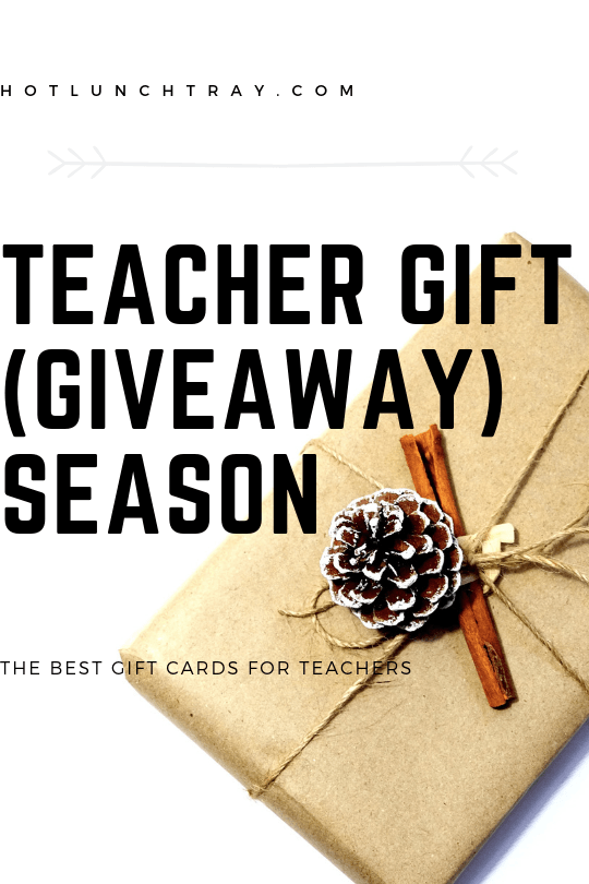 Teacher Gift (Giveaway) Season PIN