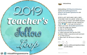 Instagram Teacher Follow Loop
