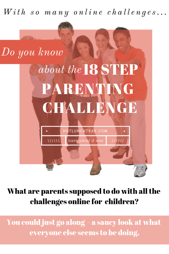 18 step parenting challenge online challenges PIN