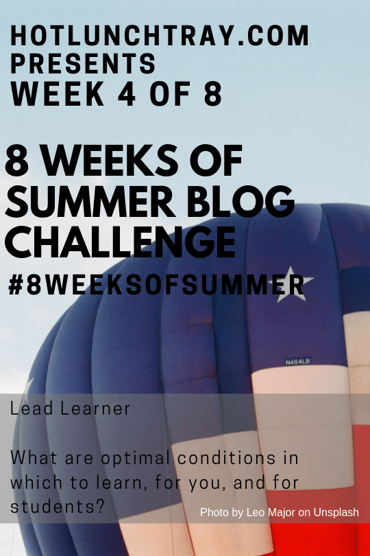 2019 #8weeksofsummer Week 4 Prompt