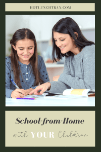 School from Home with YOUR Children PIN