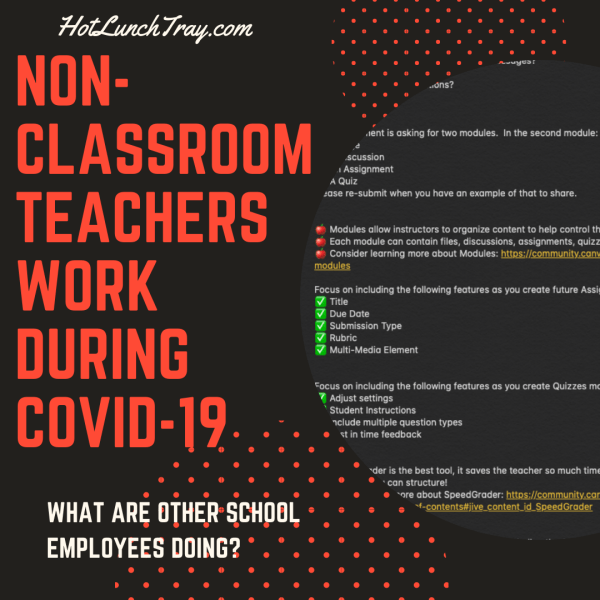 Non Classroom Teachers COVID19