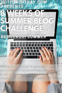2020 #8weeksofsummer Blog Challenge PIN