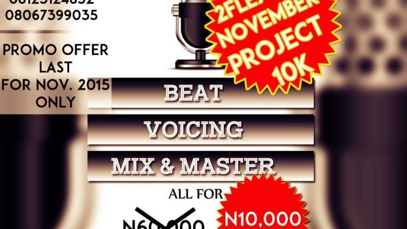 Free Beat: Project 10k (Prod. by 2Flexing)