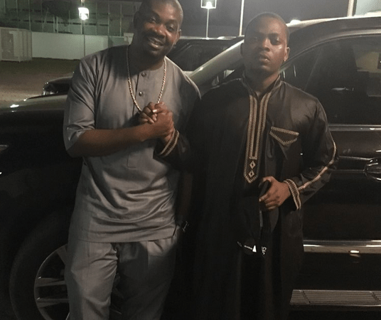 Don Jazzy And Olamide Reconcile After Headies Drama