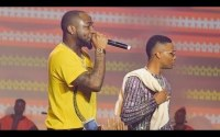 Wizkid and Davido Perform Fia Together At Wizkid The Concert