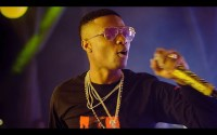 Wizkid's Performance At The CAF Awards 2018