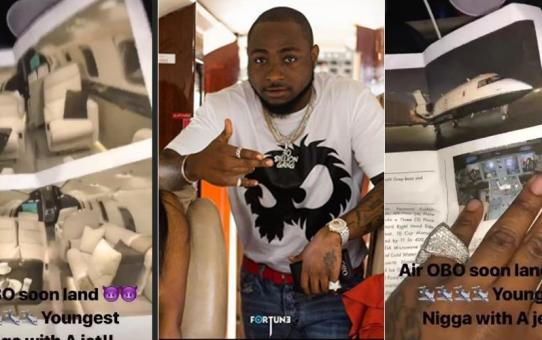 Davido Buys A Private Jet