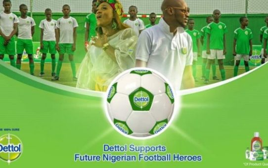 2Baba ft Waje – Dettol Future Football Heroes