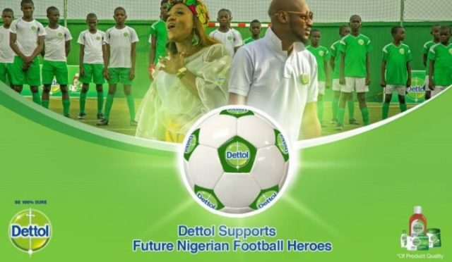 2Baba ft Waje - Dettol Future Football Heroes