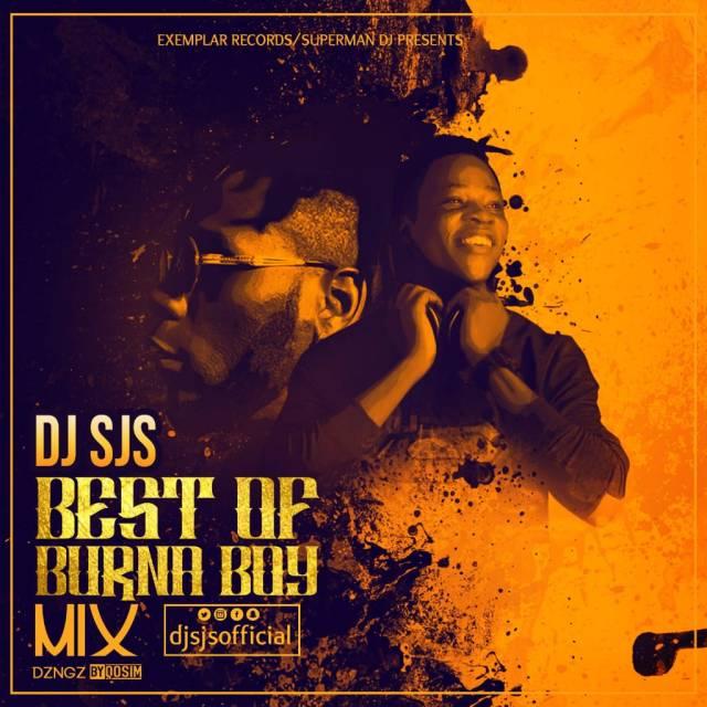 Best Of Burna Boy Mix 2019 By DJ SJS