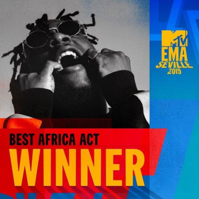 MTV EMA: Full Winners List