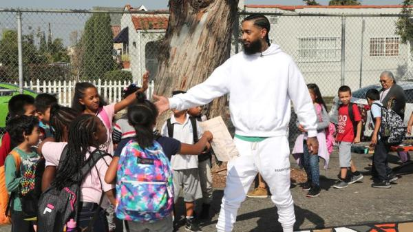 Nipsey Hussle's Tour Manager Names Baby Boy After the Late Rapper