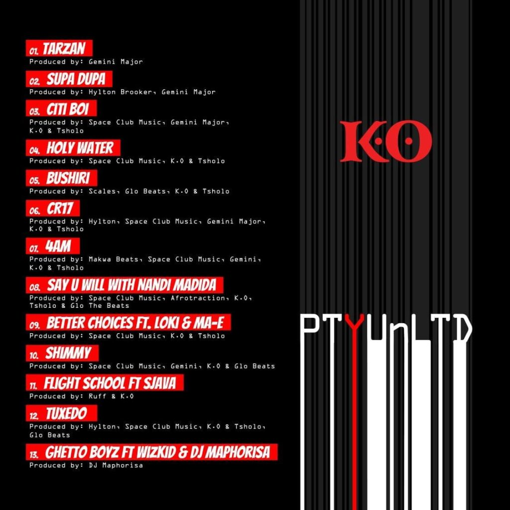 K.O - Holy Water