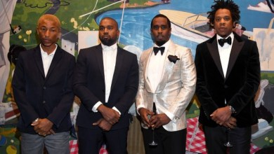 Photo of Watch Kanye West & Jay Z Reunite at Diddy's 50th Birthday Party
