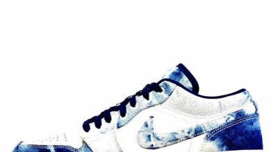 "Photo of First Look: ""Bleached Denim"" Air Jordan 1 Low"