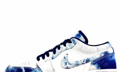 Bleached Denim Air Jordan 1 Low
