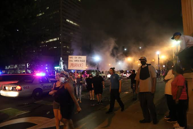 Some police have grown increasingly violent in suppressing the protesting. A Man was Shot and Killed By The Police during protest at Louisville.