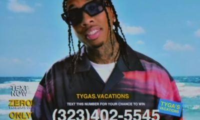 Tyga New Music Vacation