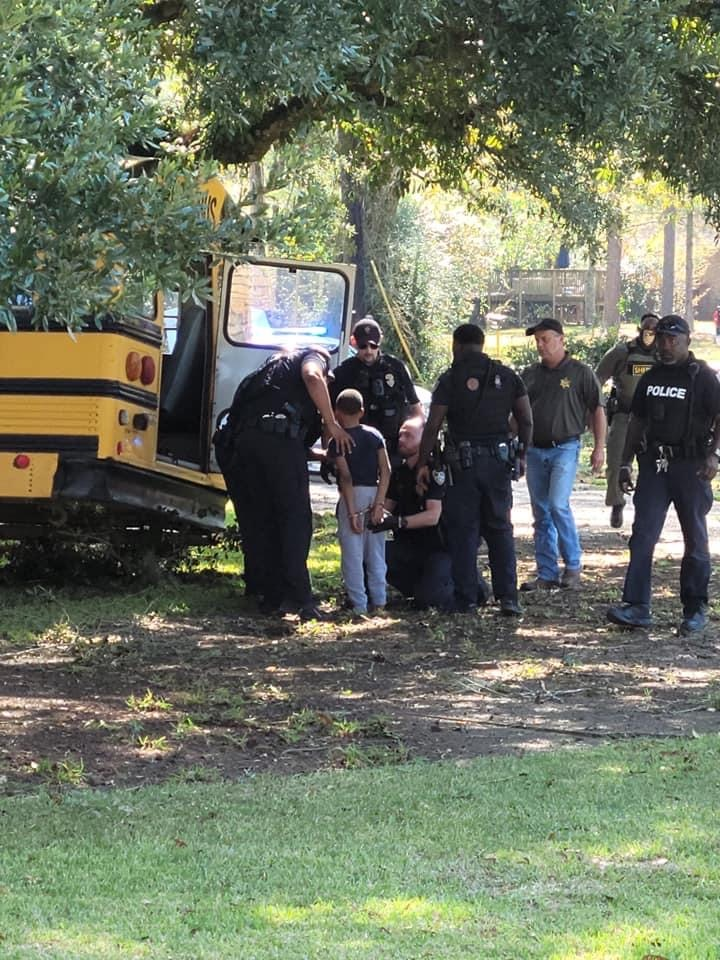 11-Year-Old Boy Steals and Crashes School Bus During Chase With 12 Police