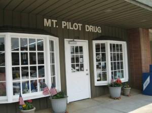 Front entrance Mt Pilot Drug