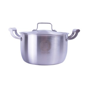 Stainless Steel Double-eared Pan (26cm)
