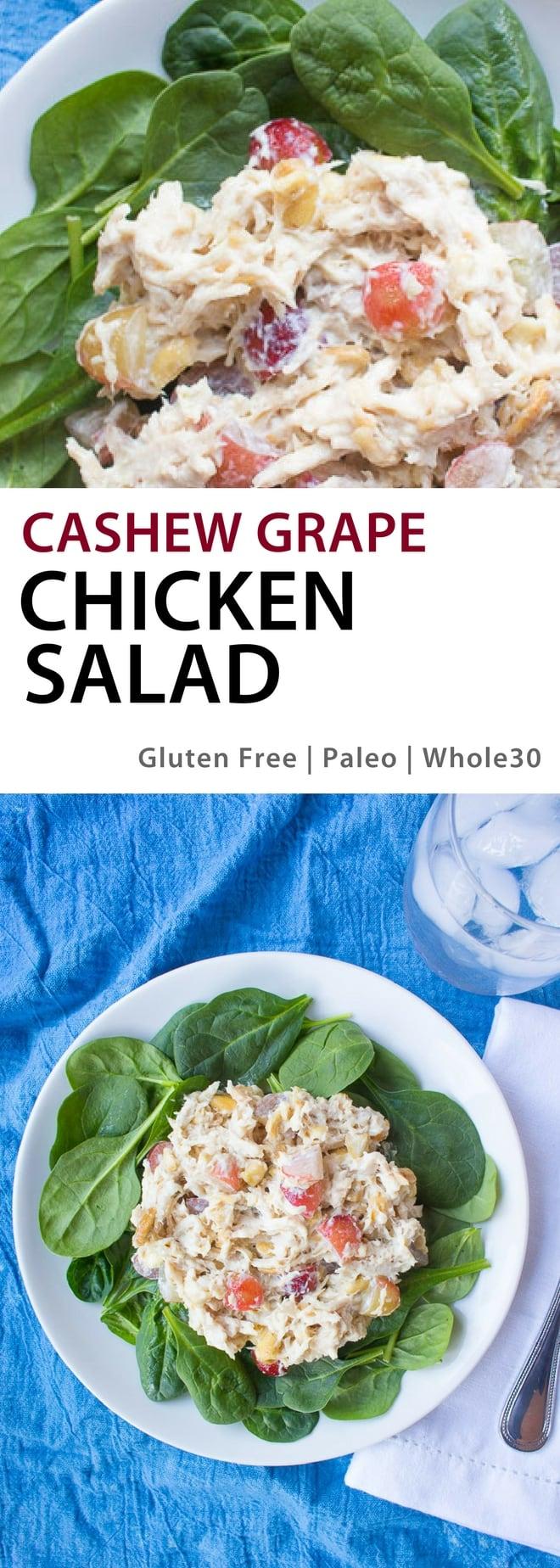 Cashew Grape Chicken Salad