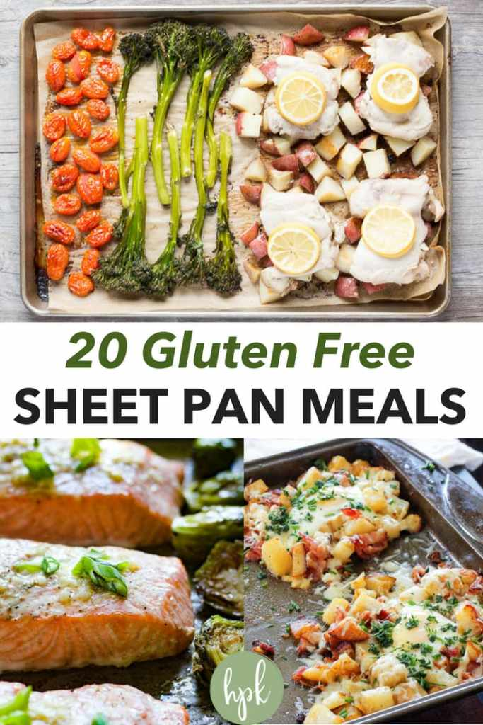 pin for gluten free sheet pan meals