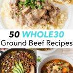 pin for whole30 ground beef roundup