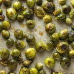 pin for roasted brussel sprouts with maple syrup