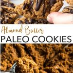 pin for flourless almond butter cookies